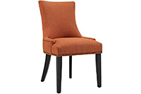 Riveted Dining Chair - Orange