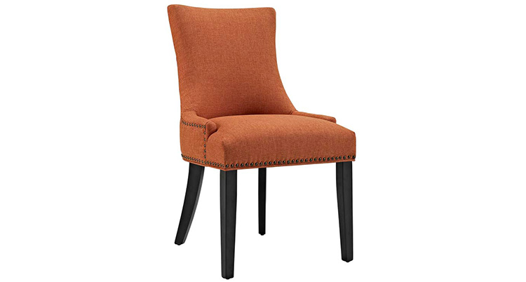 Riveted Dining Chair – Orange
