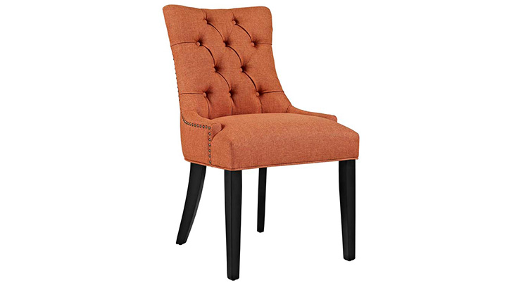 Riveted Tufted Chair