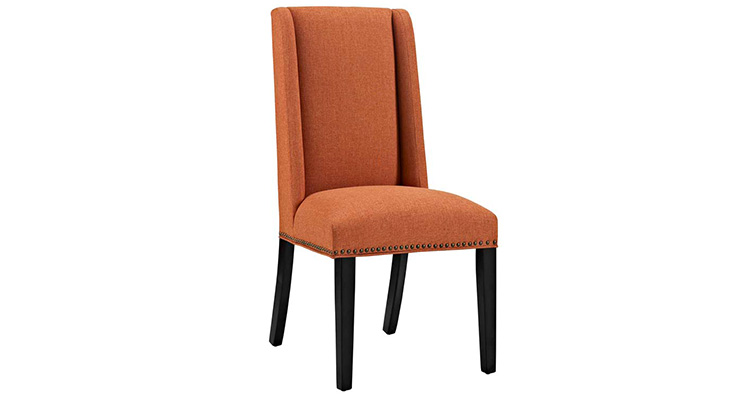 Edge Dining Chair – Orange