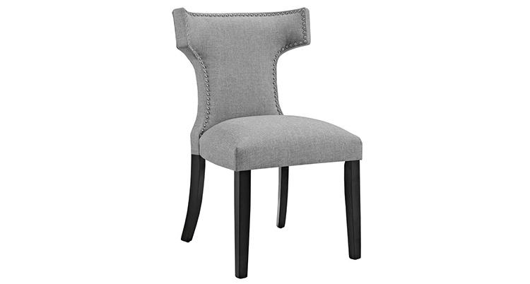 Hourglass Dining Chair – Grey