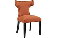 Hour Glass Dining Chair - Orange