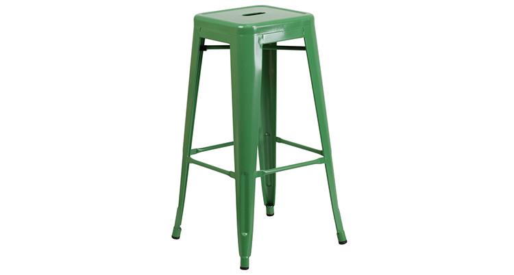 Marais Metal Barstool – Green