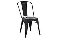 Marais Metal Chair - Black