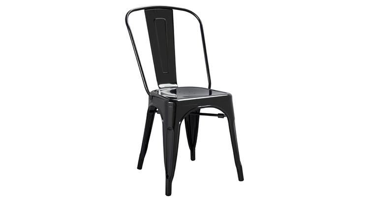 Marais Metal Chair – Black