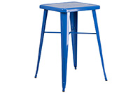 Marais Metal Highboy Table - Blue
