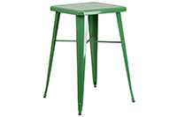 Marais Metal Highboy Table - Green