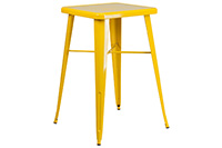 Marais Metal Highboy Table - Yellow