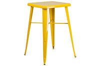 Marais Metal Highboy Table - Yellow