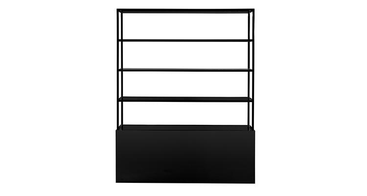 Frame Back Bar – Black