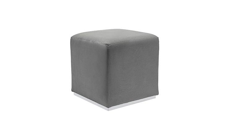 Velvet Cube – Grey