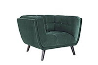 Everglades Velvet Chair