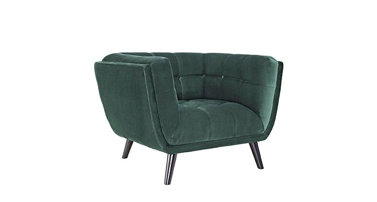 Everglades Velvet Chair