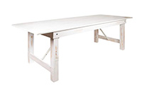 Farm Table White